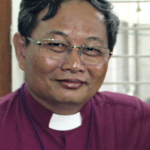 The Most Revd Stephn Than Myint Oo is the Archbishop of the Church of the Province of Myanmar.